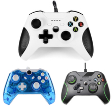Hot Sale USB Wired Controller Controle For Microsoft Xbox One Controller Gamepad For Xbox One For Windows PC Joystick newest original pc wireless adapter usb receiver for microsoft xbox one adapters adaptador controller for windows 7 8 10 laptops