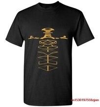 Набор из бронзовых игральных костей и меча для коллекционеров, Мужская футболка Nerdy D20