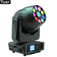 DJ Equipment 245W LED Spot Wash Beam 3IN1 Moving Head Light RGBWA+UV 6IN1 LED Stage Effect Light For Christmas Disco Patry Lamp 4pcs lot factory full color rgbwa uv 6in1 moving head 5x15w led dmx dj stage light