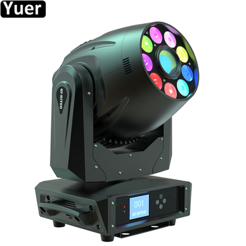 DJ Equipment 245W LED Spot Wash Beam 3IN1 Moving Head Light RGBWA+UV 6IN1 LED Stage Effect Light For Christmas Disco Patry Lamp freeshipping 4x super brightness 75w led stage moving head wash spot 2in1 light 11 degree spot 25 degree 9 x 18w tyanshine 6in1