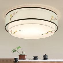 Китайский стиль ретро круглый потолочный светильник поверхностное