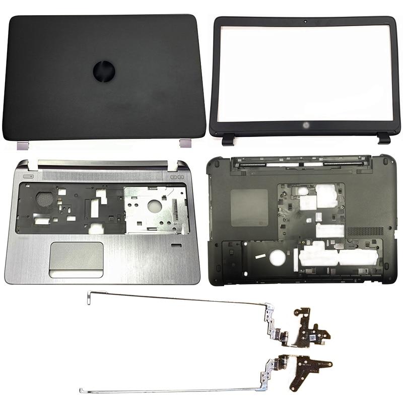 NEW Laptop LCD Back Cover/Front Bezel/Hinges/Palmrest/Bottom Case For HP Probook 450 G2 455 G2 768123-001 AP15A000100