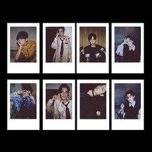 8 Pçs/set Xiao Zhan Foto Cartão Cartões de Lomo Mini Cartão Postal Cartaz Self Made Papel Photocard Fãs Gift Collection