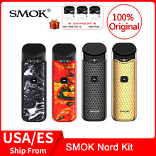 Original SMOK Nord Kit with Built-in Battery+Coils+Pod 3ml For Electronic Cigarette vs smok infinix /novo vape pen kit original kamry x pod vape kit with 0 8ml 280mah battery disposable cartridge vaporizer hot electronic cigarette vape pen kit