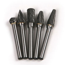 цена на 10MM Head Tungsten Carbide Rotary Burrs Die Grinder Carving Cutter Bit 6mm Shank