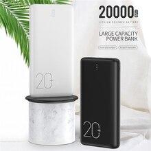 ROCK 20000mAh Power Bank For iPhone 11 Xiaomi Huawei Fast Ch