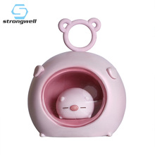 Strongwell Nordic Night Light Unicorn Star Lights Table Lamp Girl Gifts Home Decoration Accessories Baby Cute Night Light cute sleeping piglet led night light table lamp creative resin pig crafts children birthday girl s friends gifts home decoration