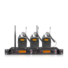 Ear monitoring wireless system with 3 receivers EM2050 stage monitor ear monitoring system 2 ear monitoring system