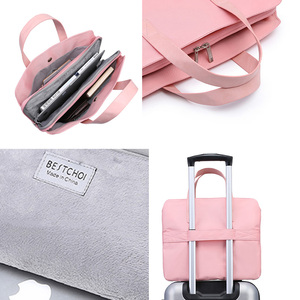 """Image 5 - Laptop Bag for Macbook air 13 case 13 14 15 15.6 inch laptop case sleeve for mac pro 16"""" xiaomi huawei Hp Dell for men women Big"""