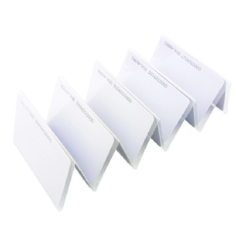 10pcs EM4100 Tk4100 125khz RFID Tag Tags 0.85mm Sticker Key  Fob Token Ring Proximity Chip Thin Cards Access Control Card Keyfob