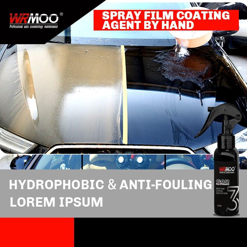 Image 5 - 120ml 9H Car Liquid Ceramic Coating Super Hydrophobic Set Nano Ceramic Car Paint Care Liquid Polysiloxane Oxidation Paint Care-in Paint Protective Foil from Automobiles & Motorcycles