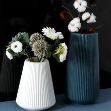 Skandynawska minimalistyczna wazon kreatywny salon vintage akcesoria stołowe estetyczny glamour wazon dekoracje do domu Home Decor DB60HP