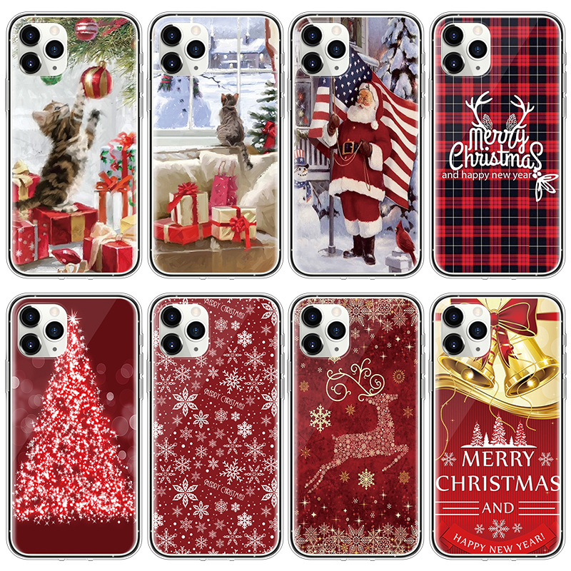 Christmas New Year Festival Case For Iphone 11 Pro Max