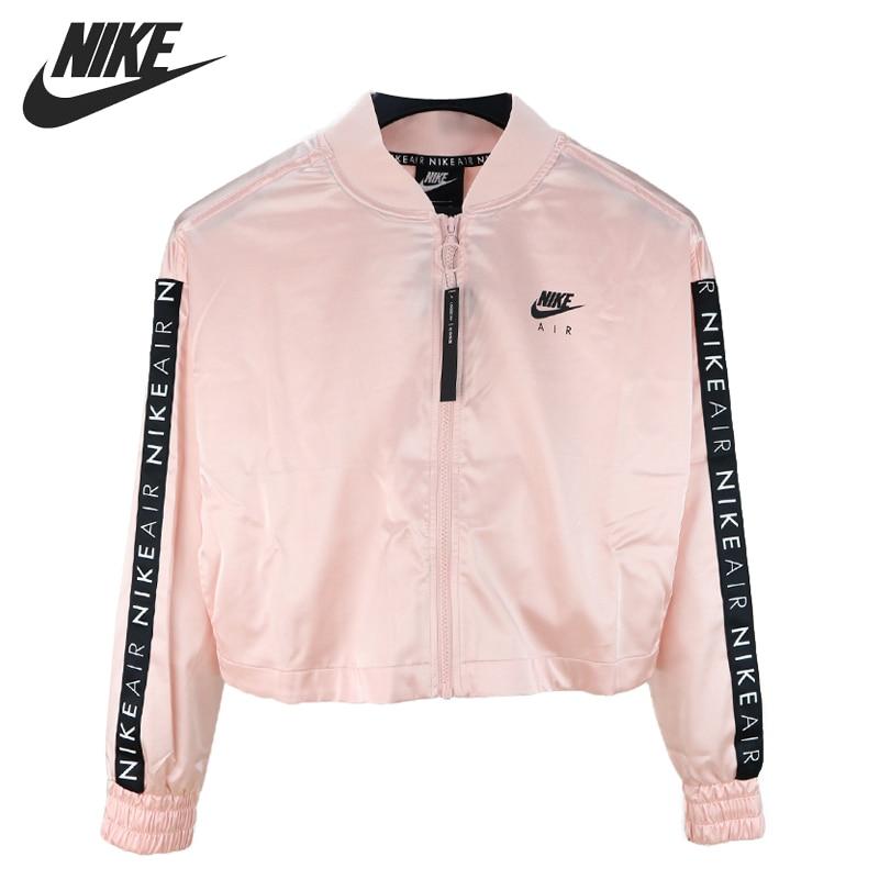 Original New Arrival  NIKE  AS W NSW AIR TRK JKT SATIN Women's  Jacket  Sportswear
