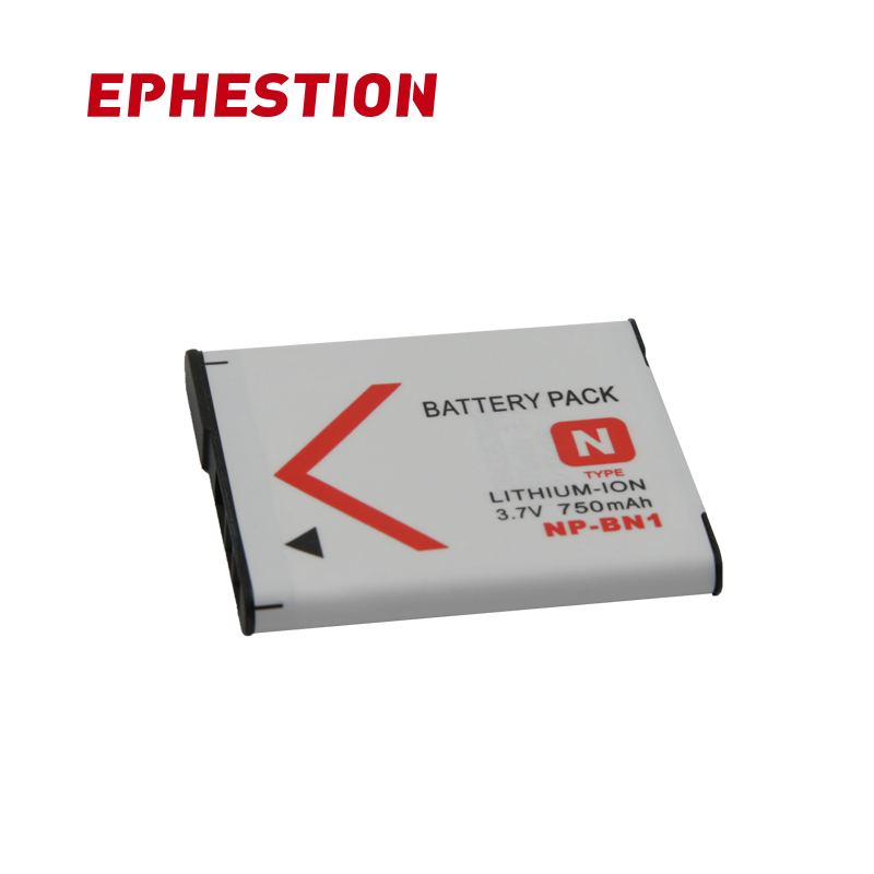 EPHESTION NP-BN1 NP BN1 NPBN1 Camera Battery For Sony TX9 WX100 TX5 WX5C W620 W630 W670 TX100 L10 Batteries High Capacity