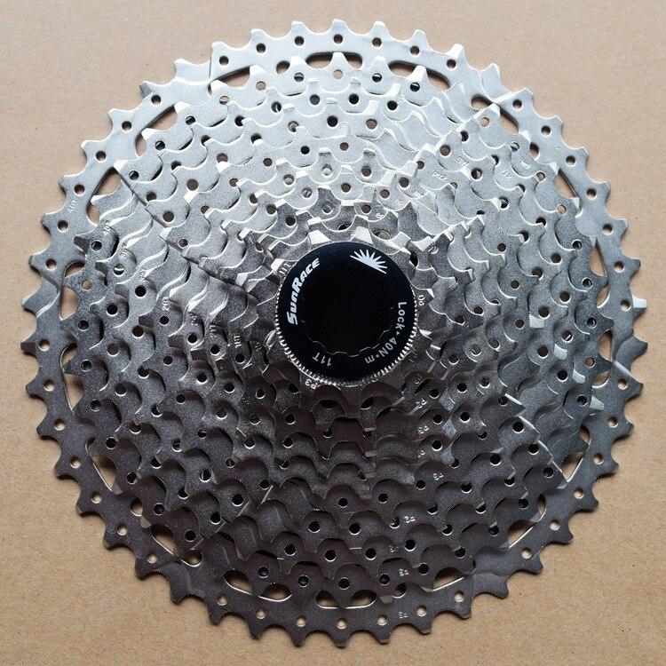 Ri Chi Sunrace Cassette Flywheel 9-Speed 11-40T Gear Csm990 Mountain Bike Tarun