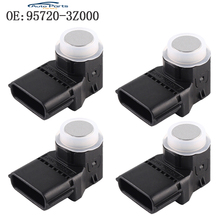 купить 4 PCS Silver Color PDC Parking Sensor For Hyundai i40 95720-3Z000 957203Z000 4MT006KCB 4MT006HCD 95720-2P500 957202P500 по цене 1914.86 рублей