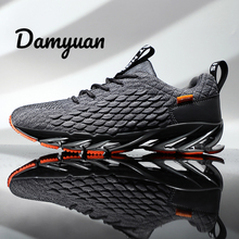 Damyuan 2019 New Autumn Casual Shoes Men Sports Sneakers Blade Plus Size 46 Zapatos De Hombre VIP LINK Black