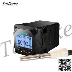 Medidor de condutividade em linha industrial ec medidor detector eletrodo água pura tds medidor análise testador sensor sonda