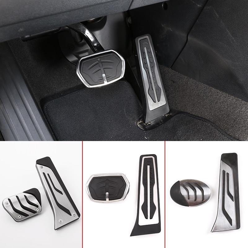 Чехол педали тормоза акселератора для BMW 3 5 7 series X1 X3 X5 F30 F32 F33 F36 F10 F25 F26 F15 E70 E90 G01 G30 F45 F48
