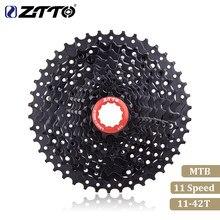 ZTTO – Cassette vtt 11 vitesses, rapport large, 42T, pièces de bicyclette, roue libre noire, M7000 M8000 M9000
