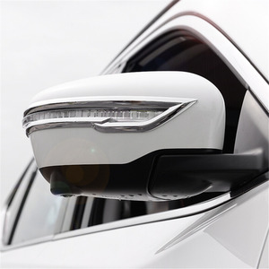 Image 4 - Cubierta embellecedora de retrovisor para Nissan x trail Rogue T32 2014 2015 2016, pegatina de espejo trasero para Nissan Qashqai J11 x trail T32 2017 2018
