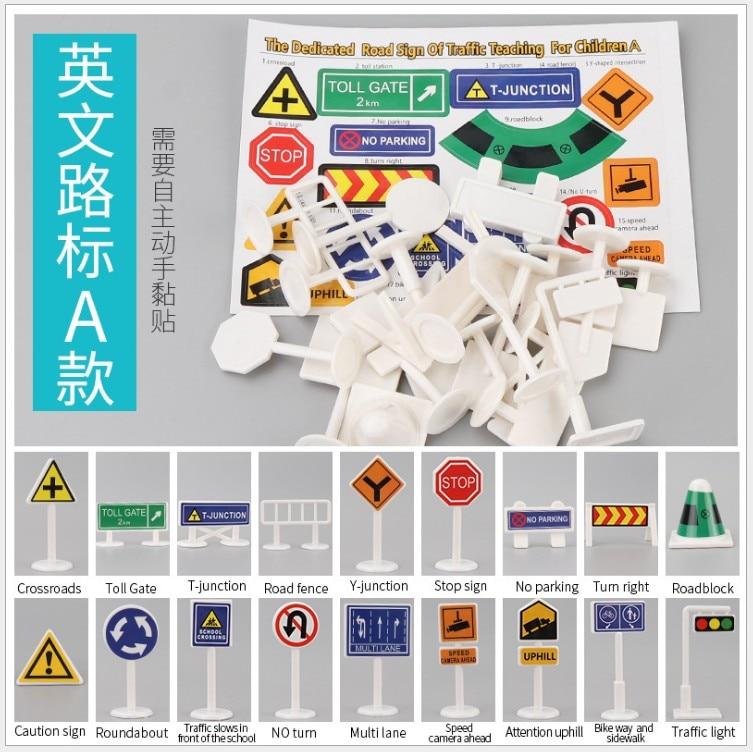 18PCS Traffic signsA