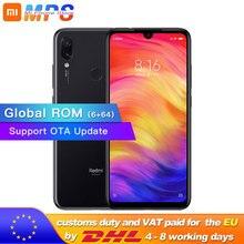 הגלובלי ROM Xiaomi Redmi הערה 7 6GB 64GB טלפון Snapdragon 660 אוקטה Core 4000mAh 6.3 טיפת מים מלא מסך 48 + 13MP Smartphone
