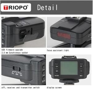 Image 3 - TRIOPO G2 2.4G Wireless Flash Trigger Receiver Suitable For TRIOPO TR 982III R1 G1800 TR 950II F1 200 Flash