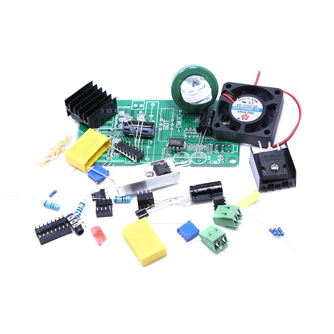 DIY Electronic Speaker Plasma Speaker Classic Tl494 Plasma Sound High Tech Programmable Accessories Kits - A Full Set Of Parts