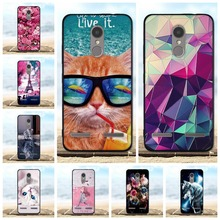 For Lenovo K6 Case Cover Soft Silicone TPU Black Shell Power 3D Cat Bag Phone Cases