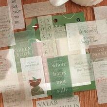 40 шт/упак ins ветер милый декоративный бумажный стикер наклейка