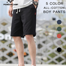 Pioneer Camp 2020 Summer Mens Shorts Pants 100% Cotton Solid