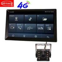 Udricare 9 inch car Truck Bus GPS Android WiFi Bluetooth Phone ADAS DVR GPS Navigation HD 1080P Dual lens Rear View Camera DVR