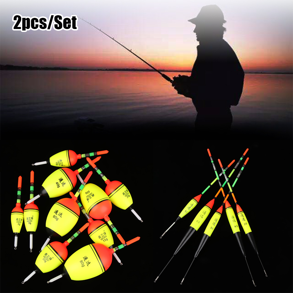 Quality Luminous Bobber Hot Ball Boia Fishing Night Float Light Stick Eva Foam