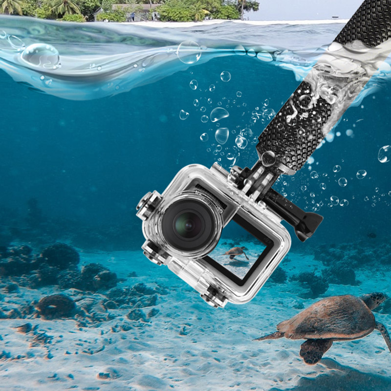 Waterproof Housing Case For OSMO Action Camera Underwater Photography Diving Protective Shell Case FJ88