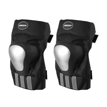 Ochraniacze na kolana motocyklowe ochraniacze na łokcie wyścigi terenowe ochraniacze na kolana Motocross ochraniacz ze stelażem motocykl Ridng Protection tanie i dobre opinie alloy Motorcycle riding knee pads Cycling leggings Support