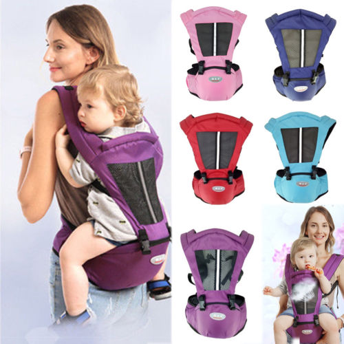 Pudcoco Adjustable Infant Baby Carrier Waist Hipseat Hip Seat Wrap Carrier Belt Sling Backpack