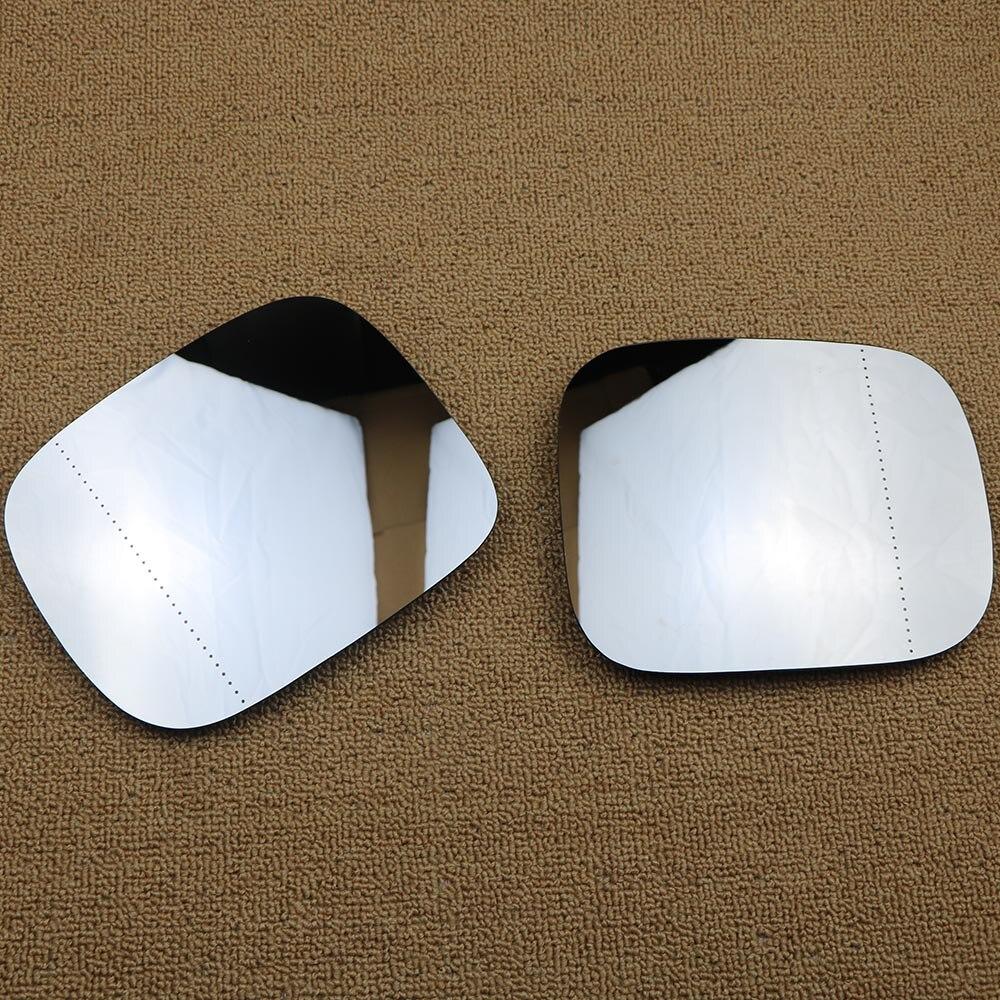 Пара Левая Правая Боковая дверь автомобиля зеркало стекло для Volvo XC70 XC90 V70 XC XC70 30716137 30716138 Замена автомобиля с подогревом крыло заднего вида