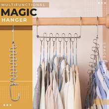 1PCS Magic Multi-port Support hangers for Clothes Drying Rack Multifunction Plastic Clothes rack drying hanger Storage Hangers