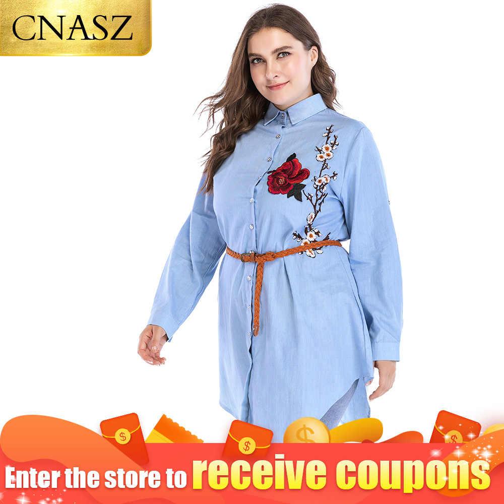 Ricamo blosue top Appliques cintura fiore rosso arabo turchia 6xl vestiti vestiti di modo di estate di disegno