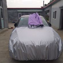 Spray Paint Special Car Cover Split Sheet Metal Anti-fog Car Cover Touch-up Large Car Cover Multi-zip Car Cover