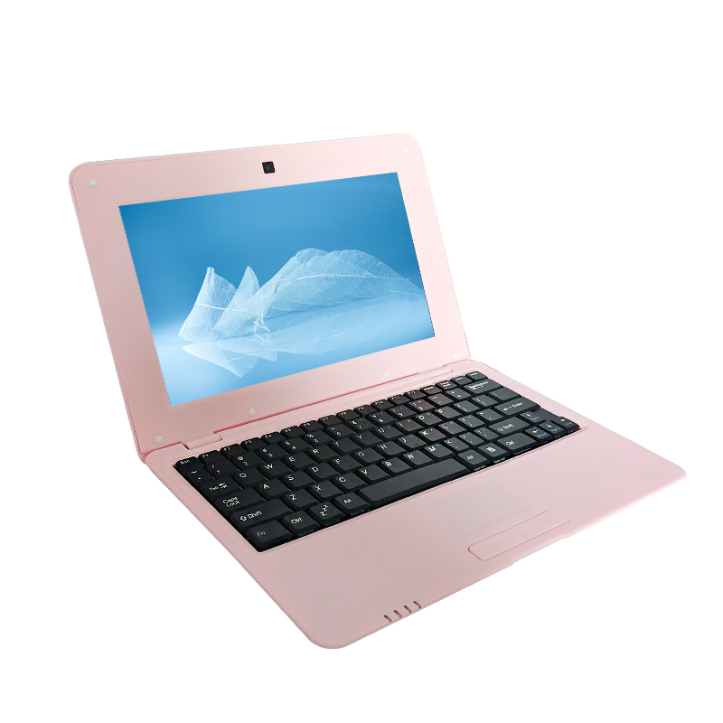 Mini Netbook 10 Inch Android Laptop Tablet With S500 Quad Core 2GB RAM 16GB Storage Wifi Laptops With 1.5GHZ Blue Pink Color