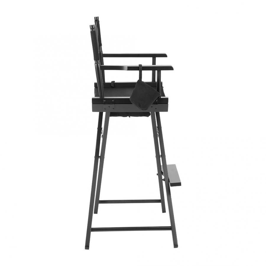 GGL Chaise professionnelle en cuir pour maquilleuse en bois pliable