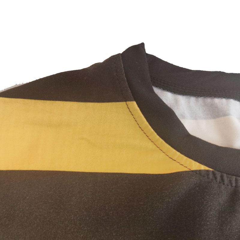 O-neck T Shirt Woman Striped Tops Short Sleeve Summer Shirt Casual Female T-shirts Tops Basic Tshirt for Women Tee feminina32 (6)