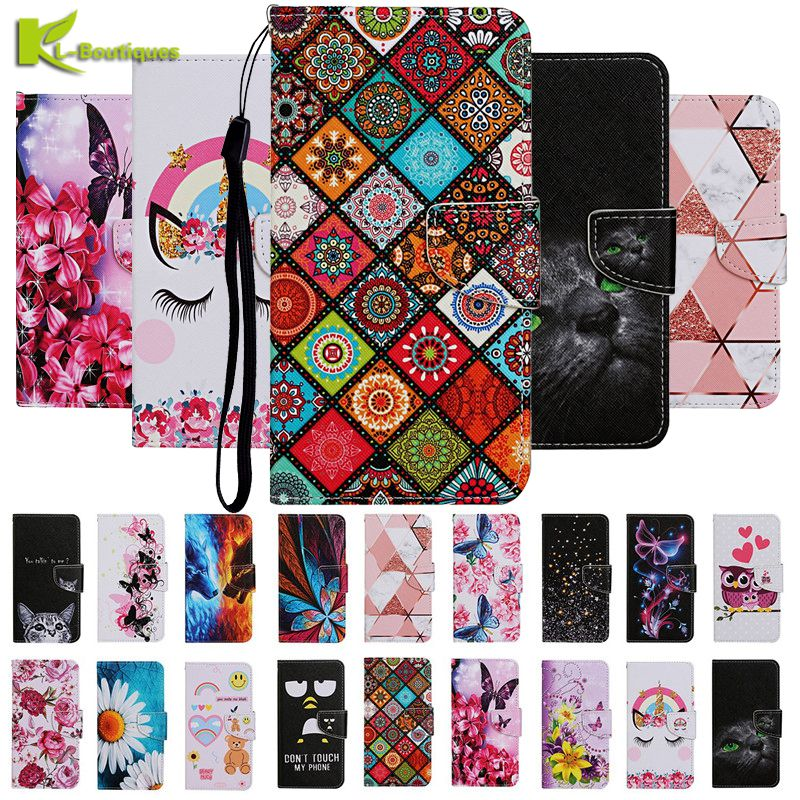 Cartoon Folk Custom Leather Case for iPhone 11 X XS XR 11 Pro Max 6 6s 7 8 Plus SE 2020 Covers Magnetic Wallet Flip Phone Cases Wallet Cases    - AliExpress