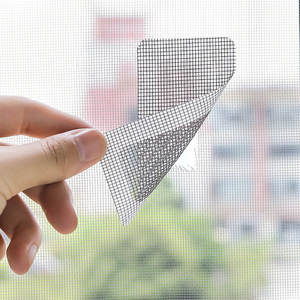 Screen Stickers Anti-Mosquito Mesh Fly-Bug-Repair Net Fix Window for Home