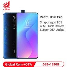 グローバル Rom Xiaomi Redmi K20 プロ 6 ギガバイト 128 ギガバイトの Snapdragon 855 携帯電話 48MP トリプルカメラ 20MP ポップアップアップカメラ 4000 2600mah のスマートフォン