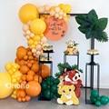 Охохо воздушные шары гирлянда арки набор «сделай сам» для дня рождения вечерние украшения мальчик Baby Shower из двух предметов на Хэллоуин, Дет...
