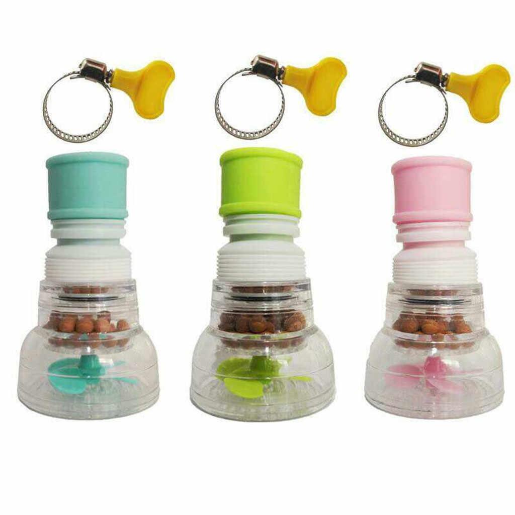 Torneira da cozinha bico torneira adaptador de 360 graus rotativo luxo rosca interna bocal filtro adaptador água salvar torneira